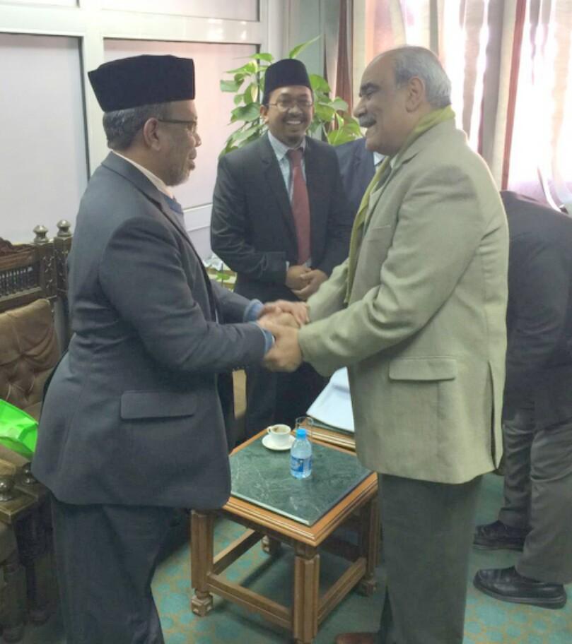 TYDP PUM bersama Penasihat Syeikh al-Azhar, Prof. Dr. Abdul Daem Nusair.