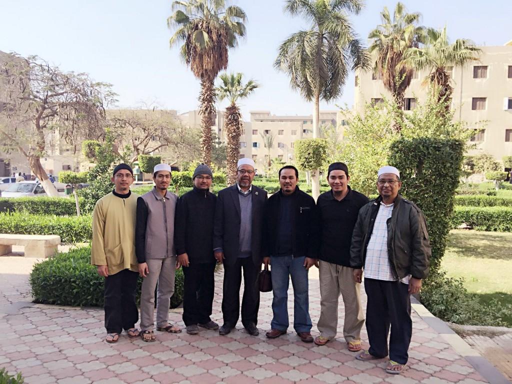 TYDP PUM di Madinah Bu`uth Islamiyyah, al-Azhar.