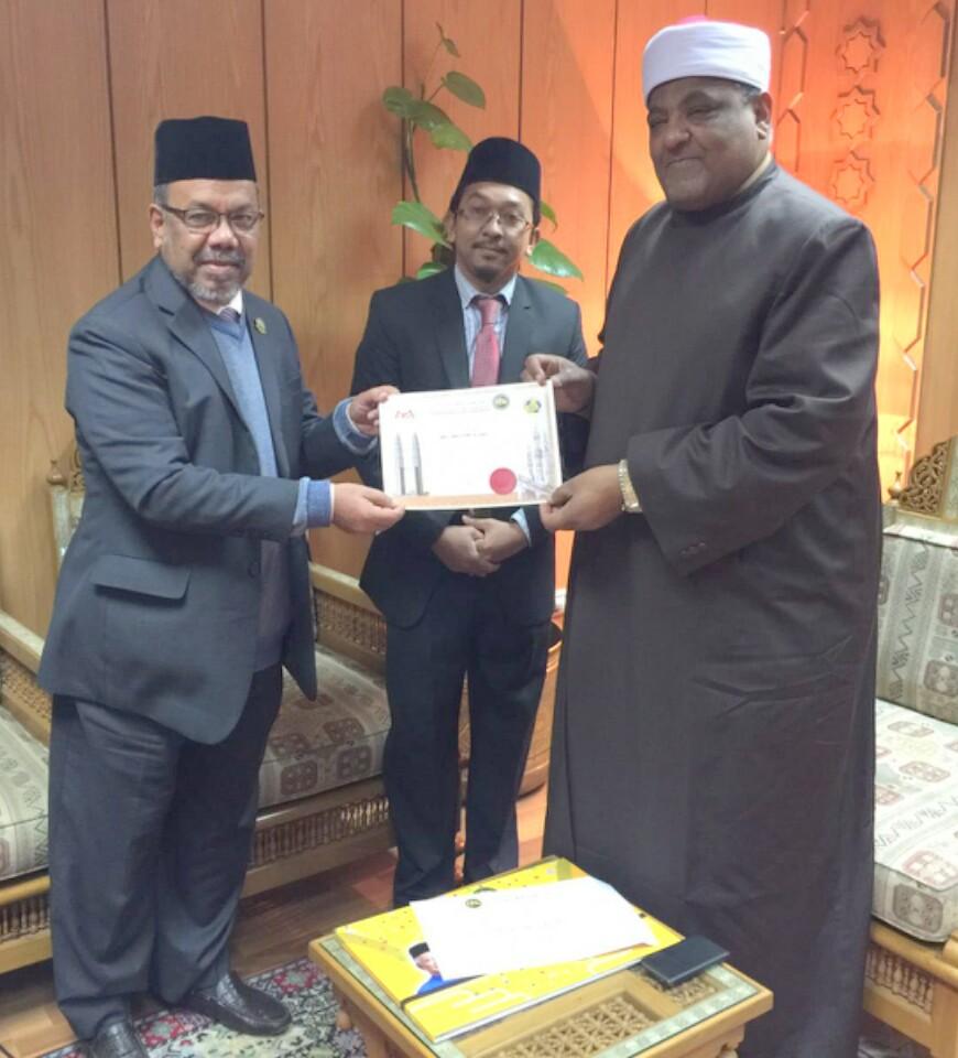 TYDP PUM bersama Timbalan Syeikh al-Azhar, Prof. Dr. Abbas Shouman.